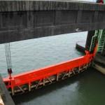 可動堰の水門