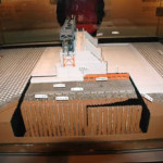 宮本武之輔が造った可動堰の模型